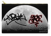 Graffiti On The Moon Carry-all Pouch