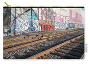 Graffiti On The Wall, Tenth Street Carry-all Pouch