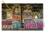 Graffiti On The Walls, Tenth Street Carry-all Pouch