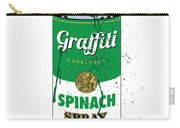 Graffiti Spinach Spray Can Carry-all Pouch