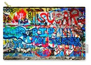 Graffiti Street Carry-all Pouch by Bill Cannon