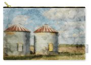 Grain Silos - Digital Paint Carry-all Pouch
