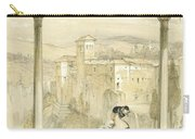 Granada , Plate 9 From Sketches Carry-all Pouch