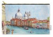 Grand Canal And Santa Maria Della Salute Venice Carry-all Pouch