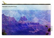 Grand Canyon As A Painting 2 Carry-all Pouch