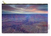 Grand Canyon Dusk Carry-all Pouch by Mike  Dawson