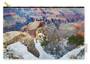 Grand Canyon In February Carry-all Pouch
