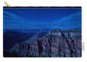Grand Canyon In Moonlight Carry-all Pouch