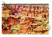Grand Canyon Navajo Painting Carry-all Pouch