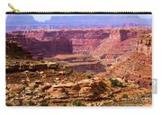 Grand Canyon Of Utah Carry-all Pouch by Adam Jewell