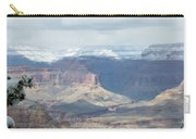 Grand Canyon Shadows And Snow Carry-all Pouch