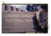 Grand Canyon Signage Carry-all Pouch