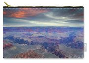 Grand Canyon Storm Set Carry-all Pouch