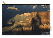 Grand Canyon Symphony Of Light And Shadow Carry-all Pouch by Bob Christopher