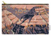 Grand Canyon Travel Poster 1938 Carry-all Pouch