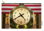 Grand Central Clock Carry-all Pouch