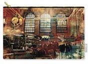 Grand Central Terminal 100 Years Carry-all Pouch by Diana Angstadt