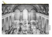 Grand Central Terminal Birds Eye View Bw Carry-all Pouch