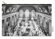 Grand Central Terminal Birds Eye View I Bw Carry-all Pouch