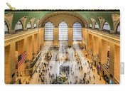 Grand Central Terminal Birds Eye View I Carry-all Pouch by Susan Candelario