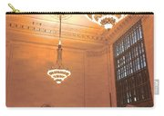 Grand Central Terminal Chandeliers Carry-all Pouch