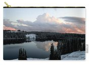 Grand Mesa Winter Lakes Carry-all Pouch