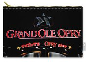 Grand Ole Opry Entrance Carry-all Pouch