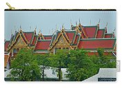 Grand Palace Of Thailand From Waterways Of Bangkok-thailand Carry-all Pouch