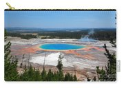 Grand Prismatic Spring From Above Carry-all Pouch