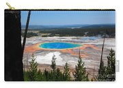 Grand Prismatic Spring From Hillside Carry-all Pouch