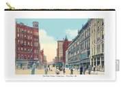 Grand Rapids - Michigan - Campau Square And Monroe Street - 1912 Carry-all Pouch