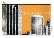 Grand Rapids Skyline - Orange Carry-all Pouch