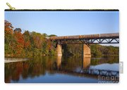 Grand River Autumn Freight Train Carry-all Pouch