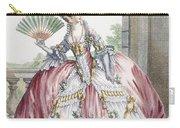 Grand Robe A La Francais, Engraved Carry-all Pouch by Claude Louis Desrais