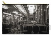 Grand Salon 05 Queen Mary Ocean Liner Bw Carry-all Pouch