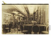 Grand Salon 05 Queen Mary Ocean Liner Heirloom Carry-all Pouch