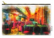Grand Salon 05 Queen Mary Ocean Liner Photo Art 01 Carry-all Pouch