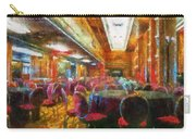 Grand Salon 05 Queen Mary Ocean Liner Photo Art 02 Carry-all Pouch