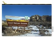Grand Staircase-escalante National Monument Carry-all Pouch