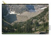 1m9387-v-grand Teton And Delta Lake - V Carry-all Pouch