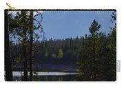 Grand Teton Framed By Cedars Carry-all Pouch