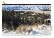 Grand Teton Landscape Carry-all Pouch