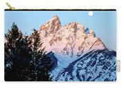Grand Teton National Park Moonset Carry-all Pouch