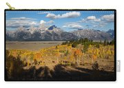 Grand Teton National Park Poster Carry-all Pouch