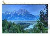 Grand Teton  - Snake River Overlook  Carry-all Pouch