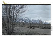 Grand Tetons Landscape Carry-all Pouch