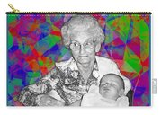 Grandma And Rose Carry-all Pouch