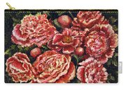 Grandma Lights Peonies Carry-all Pouch