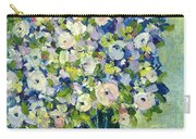 Grandma's Flowers Carry-all Pouch by Sherry Harradence