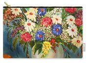 Grandma's Hat And Bouquet Carry-all Pouch